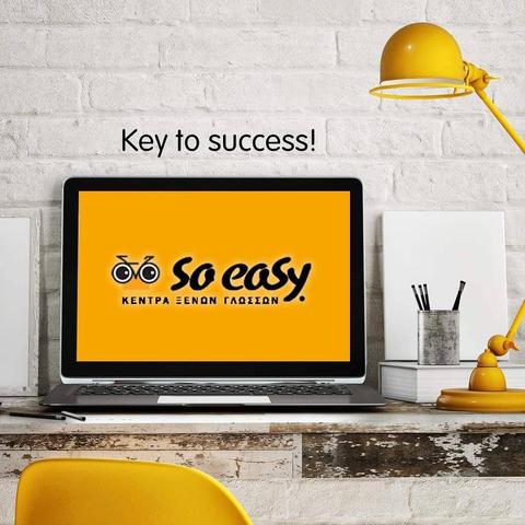 So Easy Key to success!